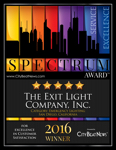 The Exit Light Company Receives 2016 Spectrum Award for Excellence in Customer Satisfaction