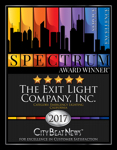 The Exit Light Company Receives 2017 Spectrum Award for Excellence in Customer Satisfaction
