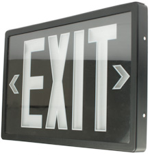 Radioluminescent Exit Sign The Exit Light Co Blog