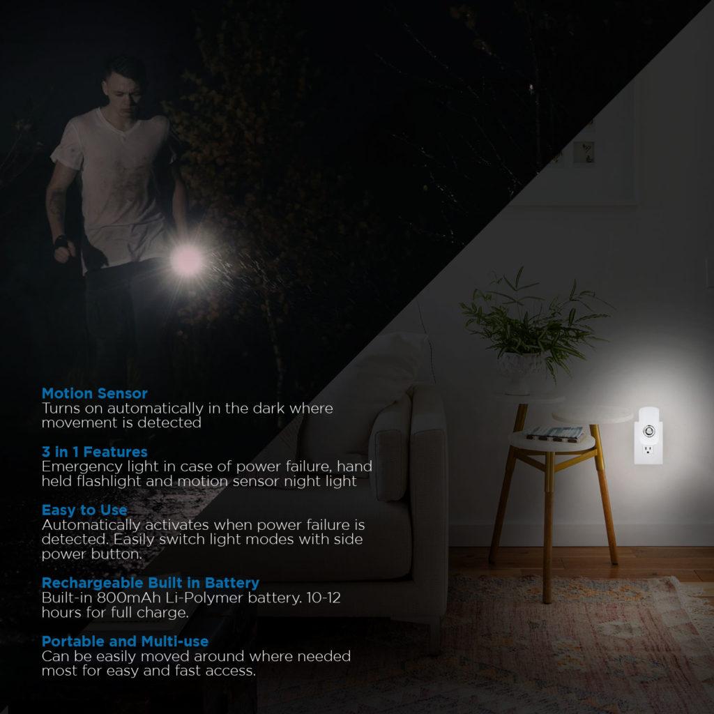 Power Failure Nightlight and Flashlight