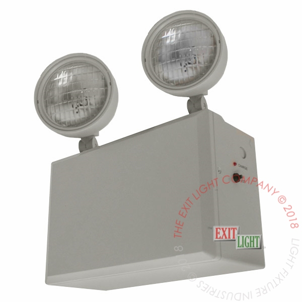 Remote Head Capable Emergency Lights Exit Light Co