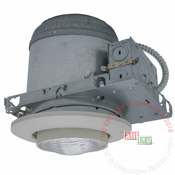 Emergency Light Recessed 6 Ic Rated