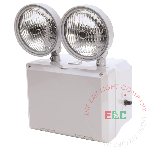 Industrial Emergency Light with Plastic Housing