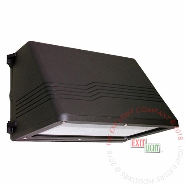 Light Fixture | Full Cutoff Wall Pack 1x26W CFL (w/ Emergency Ltg Option) |  2 Week Lead Time