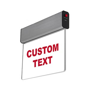 Custom Exit Signs | 5-7 Day Lead Time